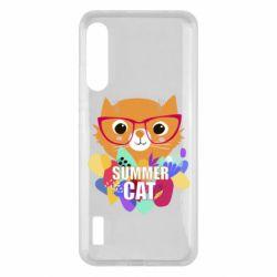 Чохол для Xiaomi Mi A3 Summer cat