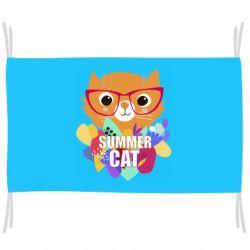 Прапор Summer cat