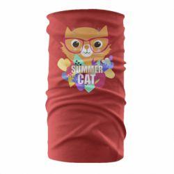 Бандана-труба Summer cat