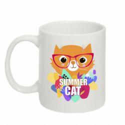 Кружка 320ml Summer cat