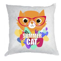 Подушка Summer cat