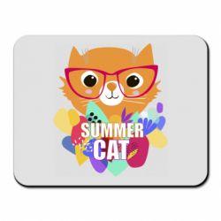 Килимок для миші Summer cat