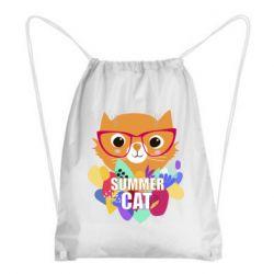 Рюкзак-мішок Summer cat