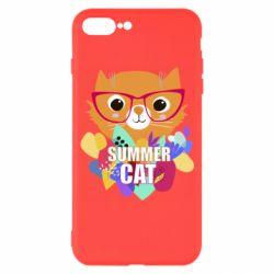 Чохол для iPhone 7 Plus Summer cat