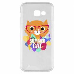 Чехол для Samsung A5 2017 Summer cat