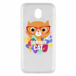 Чехол для Samsung J5 2017 Summer cat