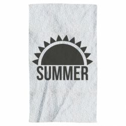 Рушник Summer text and sun