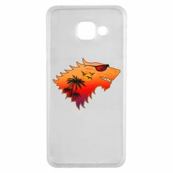 Чехол для Samsung A3 2016 Summer Wolf with glasses Game of Thrones