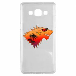 Чехол для Samsung A5 2015 Summer Wolf with glasses Game of Thrones