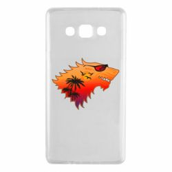 Чехол для Samsung A7 2015 Summer Wolf with glasses Game of Thrones