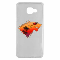Чехол для Samsung A7 2016 Summer Wolf with glasses Game of Thrones