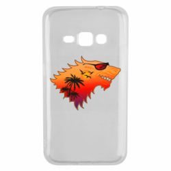 Чехол для Samsung J1 2016 Summer Wolf with glasses Game of Thrones