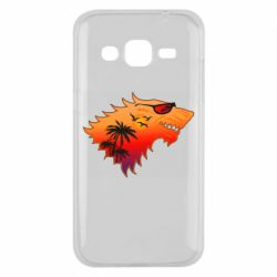 Чехол для Samsung J2 2015 Summer Wolf with glasses Game of Thrones
