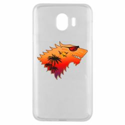 Чехол для Samsung J4 Summer Wolf with glasses Game of Thrones
