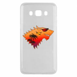 Чехол для Samsung J5 2016 Summer Wolf with glasses Game of Thrones