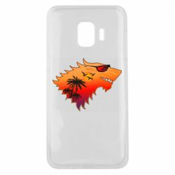 Чехол для Samsung J2 Core Summer Wolf with glasses Game of Thrones