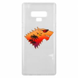 Чехол для Samsung Note 9 Summer Wolf with glasses Game of Thrones