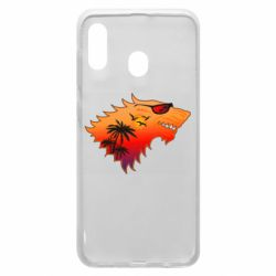Чехол для Samsung A30 Summer Wolf with glasses Game of Thrones