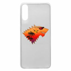 Чехол для Samsung A70 Summer Wolf with glasses Game of Thrones