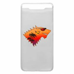 Чехол для Samsung A80 Summer Wolf with glasses Game of Thrones