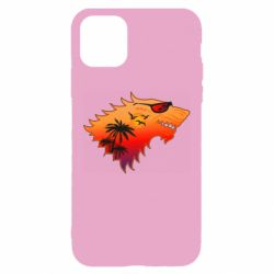 Чехол для iPhone 11 Summer Wolf with glasses Game of Thrones