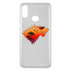 Чехол для Samsung A10s Summer Wolf with glasses Game of Thrones