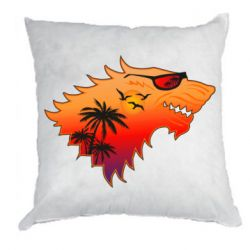 Подушка Summer Wolf with glasses Game of Thrones