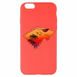 Чехол для iPhone 6 Plus/6S Plus Summer Wolf with glasses Game of Thrones