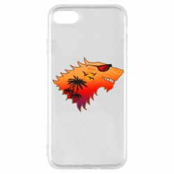 Чехол для iPhone 7 Summer Wolf with glasses Game of Thrones