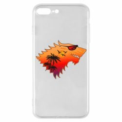 Чехол для iPhone 7 Plus Summer Wolf with glasses Game of Thrones