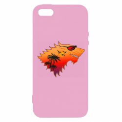 Чехол для iPhone5/5S/SE Summer Wolf with glasses Game of Thrones