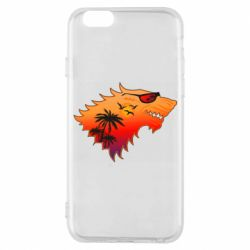 Чехол для iPhone 6/6S Summer Wolf with glasses Game of Thrones