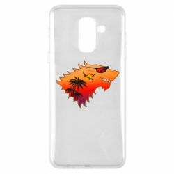 Чехол для Samsung A6+ 2018 Summer Wolf with glasses Game of Thrones