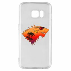 Чехол для Samsung S7 Summer Wolf with glasses Game of Thrones
