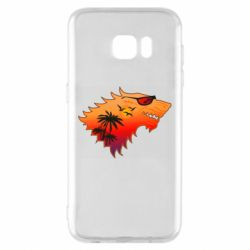 Чехол для Samsung S7 EDGE Summer Wolf with glasses Game of Thrones