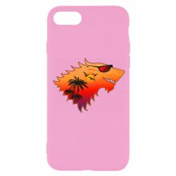 Чехол для iPhone 8 Summer Wolf with glasses Game of Thrones
