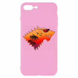 Чехол для iPhone 8 Plus Summer Wolf with glasses Game of Thrones