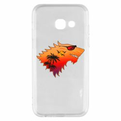Чехол для Samsung A3 2017 Summer Wolf with glasses Game of Thrones