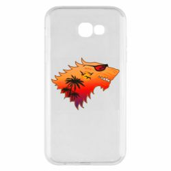 Чехол для Samsung A7 2017 Summer Wolf with glasses Game of Thrones