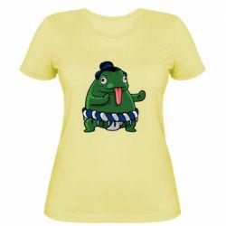Женская футболка Sumo toad