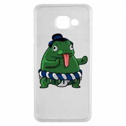 Чехол для Samsung A3 2016 Sumo toad