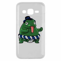 Чехол для Samsung J2 2015 Sumo toad