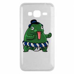 Чехол для Samsung J3 2016 Sumo toad