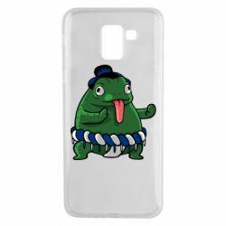 Чехол для Samsung J6 Sumo toad