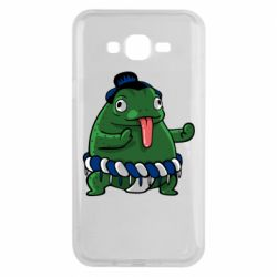 Чехол для Samsung J7 2015 Sumo toad