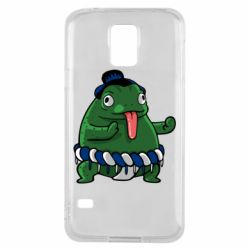 Чехол для Samsung S5 Sumo toad