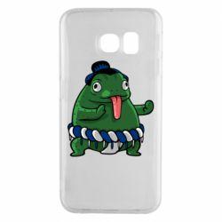Чехол для Samsung S6 EDGE Sumo toad