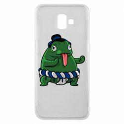 Чехол для Samsung J6 Plus 2018 Sumo toad