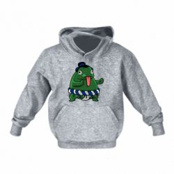 Детская толстовка Sumo toad