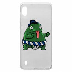 Чехол для Samsung A10 Sumo toad